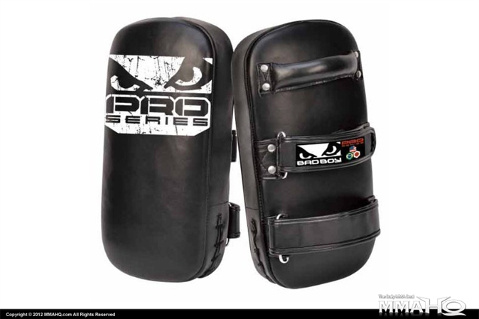 Bad Boy Leather Pro Series Muay Thai Pads
